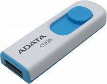 Флеш карта A-Data 8GB C008 USB 2.0 White-Blue - Интернет-магазин Intermedia.kg