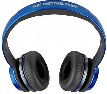 Наушники Monster N-Tune High Performance On-Ear Headphones, проводные, jack 3.5mm, Blue/Black - Интернет-магазин Intermedia.kg