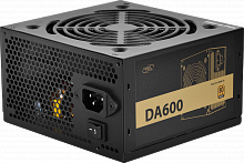 Блок питания Power Unit DEEPCOOL DA600 600W 80 PLUS® Bronze certified 100-240V/ Intel ATX12V 2.3 & SSI EPS 12V - Интернет-магазин Intermedia.kg