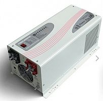 Инвертор POWER STAR W7 1500w PS-1512VA/12vDC/ 230VAC-50hz OUTPUT PURE SINEWAVE/LCD/withoutbattery in - Интернет-магазин Intermedia.kg