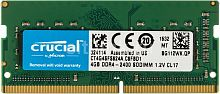 Оперативная память DDR4 SODIMM 4GB Crucial 2400Mhz (PC4-19200) CL17 SR x16 Unbuffered 260pin [CT4G4SFS824A] - Интернет-магазин Intermedia.kg