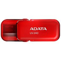 Флеш карта 16GB USB 2.0 A-DATA UV240 RED - Интернет-магазин Intermedia.kg