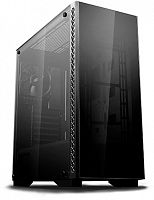 Корпус Deepcool ATX MATREXX 50 w/o PSU 1*USB 3.0  Glass front panel Fully black - Интернет-магазин Intermedia.kg