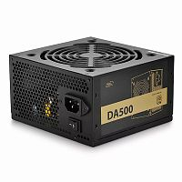 Блок питания Power Unit DEEPCOOL DA500 500W 80 PLUS® Bronze certified 100-240V/ Intel ATX12V v 2.31 120mm fan - Интернет-магазин Intermedia.kg