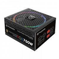 Блок питания Thermaltake Toughpower Grand RGB TPG-0750F-R, 750W, 80Plus Gold, ATX, модульный, 1x24-Pin, EPS (CPU) 2x8 (4+4)-Pin, PCIE 6x8 (6+2)-Pin, 12xSATA, 1xFloppy, 4xFour-Pin Peripheral, 140mm Rii - Интернет-магазин Intermedia.kg