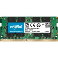 Оперативная память DDR4 SODIMM 16GB [CT16G4SFD8266] Crucial 2666Mhz (PC4-21300) CL17 Unbuffered 260pin Single Ranked - Интернет-магазин Intermedia.kg