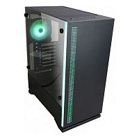 "Корпус Zalman S5, ATX Mid-Tower, RGB подсветка кулера/передней панели; 2x3.5"", 4x2.5""; front fan 120mm, rear fan 120mm; 3xUSB, 2x miniJack; высота CPU fan до 163mm; окно на боковой стенке, сталь 0.6mm - Интернет-магазин Intermedia.kg"
